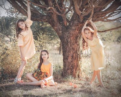 Три дочери осени Осень дети сад