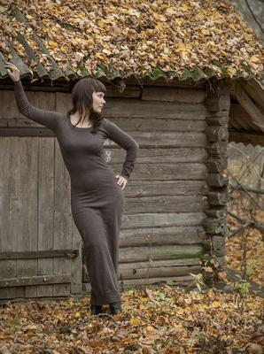 Хозяйка леса... осень девушка