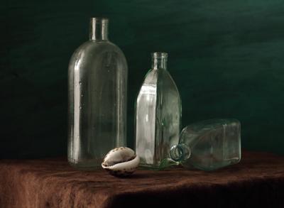 Этюд с пустыми бутылками