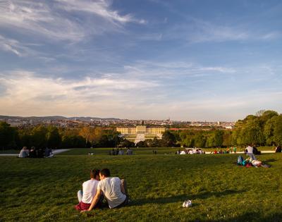 Дворцовый парк Shoenbrunn
