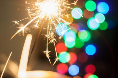 Новогоднее настроение Новый год боке огонек