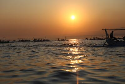 sunrise fishing Indonesia Bali fishing sunrise