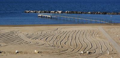"""*Волны"""" Италия пляж песок"""