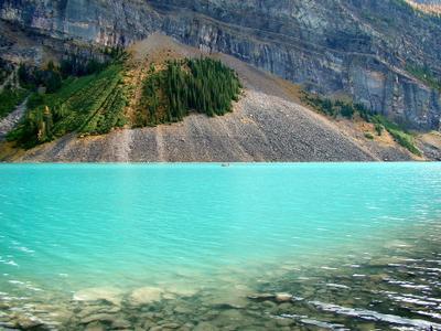 Lake Louise Канада Альберта Банф Banf озеро горы отражения лес природа пейзаж