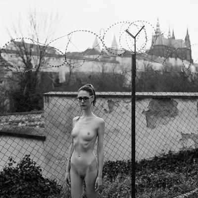 Nude in Prague - Paja