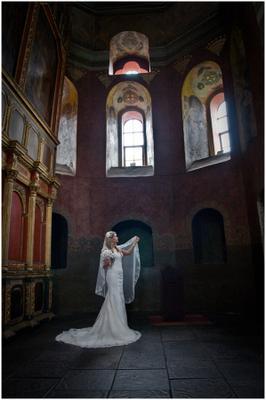 В Храме... свадьба невеста лавра киев