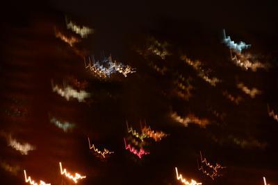 Пульс ночного города ночь город