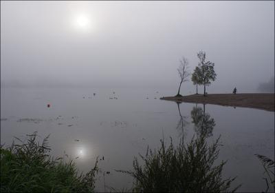 конец сезона... Красное Село СПб Безымянное озеро