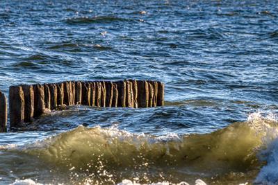 Волнорез на Балтийском море балтика пляж море песок латвия лиепая
