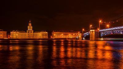 Вечерняя Нева