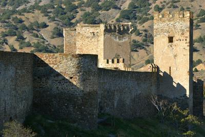 крепость, фрагмент