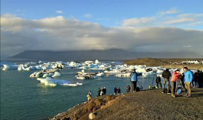 Исландия. исландия лагуна ледник