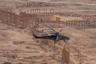 *** война сирия репортаж пальмира