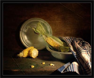 с кукурузой...