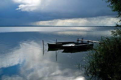 Неро Ростов Неро озеро осень лодки