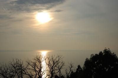 Серебряные сумерки сумерки море солнце
