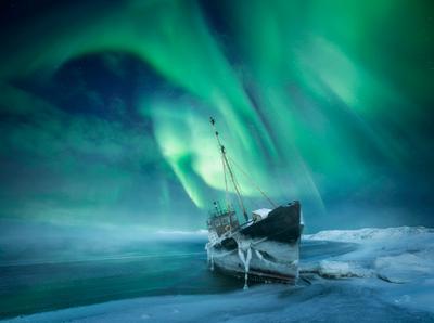 For the Northern Lights Aurora borealis Кольский полуостров Северное сияние Teriberka Териберка