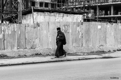 Ethiopia, Addis, 2013 Travel black and white street Ethiopia Africa
