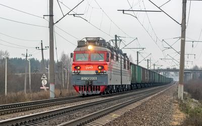 ВЛ80С-2003 ВЛ80С-2003 брантовка нея перегон транссиб путь дорога транспорт сев сжд жд локомотив электровоз поезд