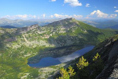 Зеркало неба ергаки горы озеро