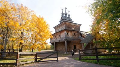 Церковь Георгия Победоносца в Коломенском коломенское церковь григорий победоносец