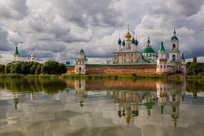 Спасо-Яковлевский Димитриев мужской монастырь монастырь отражение Неро