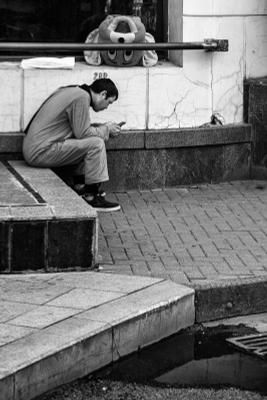 Перерыв чб чбфото арбат аниматор улица мск москва черно-белое стрит