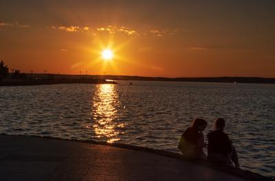 Вечер на Онежском озере...