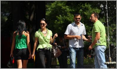 Трое в зеленом и ... Молдавия молодежь