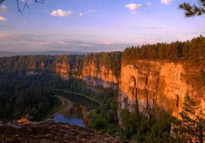 ... нежным cветом утро красит ... Южный Урал, река Ай
