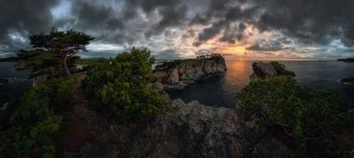 *** Суровое Приморье *** приморский край море солнце рассвет владивосток заповедник скалы