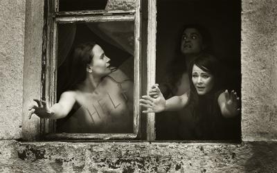 *** Ню модель страх настроение мастеркласс портрет группа