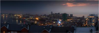 Вечерний Владивосток  Владивосток вечер