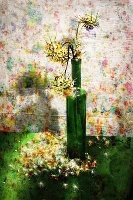 Колючки желтое зеленое иннамеркиш
