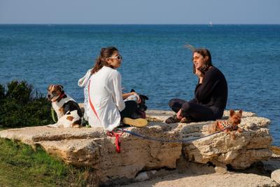 Декабрьский денёк Хайфа море