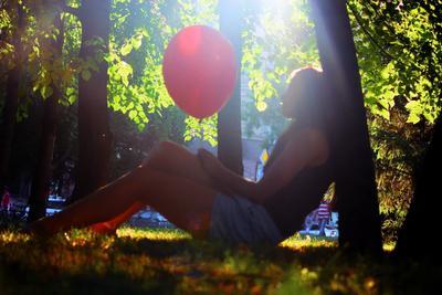 спокойное счасте шарик