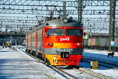 ЭР9П-К-328 railway железная дорога locomotive локомотив электровоз поезд train Russia Siberia Irkutsk Россия Сибирь Иркутск споттинг spotting