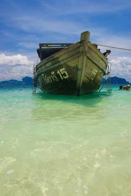 Китайская барка лодка пхукет