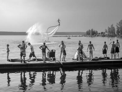день полётов чб пирс озеро спортсмены гидрофлай