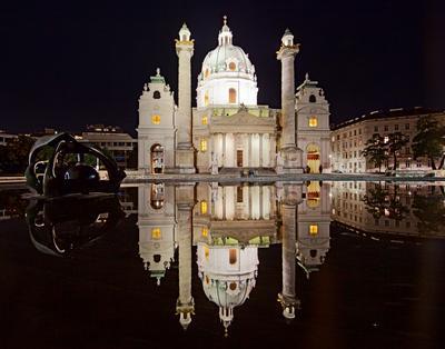 Karlskirche. Wien