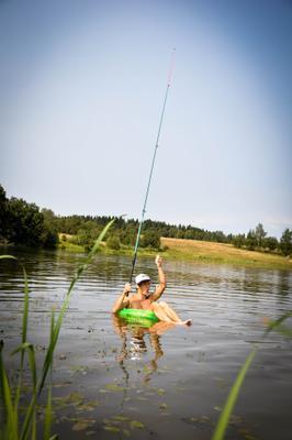 Летняя рыбалка лето рыбалка вода природа солнце озеро