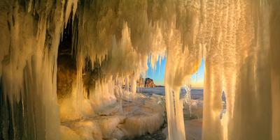 Рассвет на Байкале II Байкал