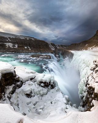 #238 Iceland, Waterfall Gullfoss