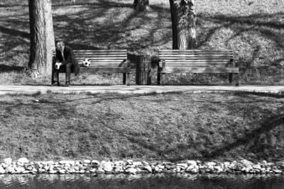 Тренер чб чбфото люблино мяч улица мск москва черно-белое стрит парк монохром