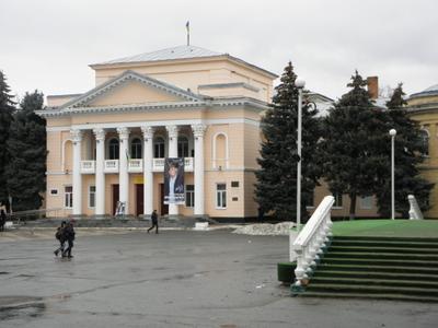 Первомайск  , Дом Советов (сейчас ГДК)