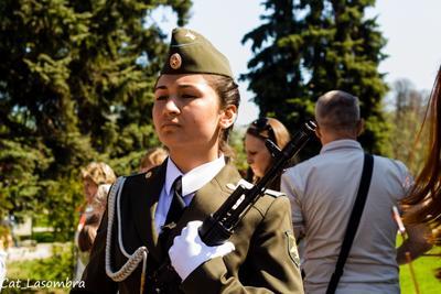 На посту № 1. 9 мая день победы школьники патриотизм