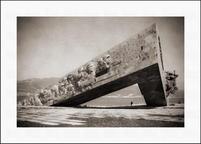 Монументальное величие - 2 мемориал малая земля новороссийск памятник чб старое фото