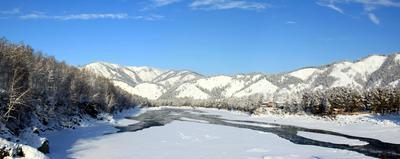 Река Катунь катунь, алтай