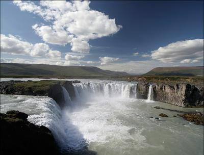 Goðafoss Исландия Goðafoss