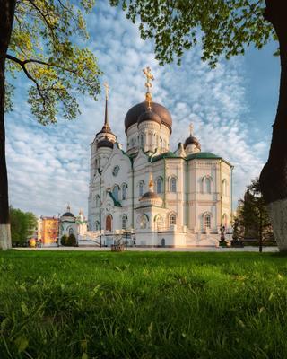 Благовещенский собор весенним утром! воронеж весна май 2021 собор